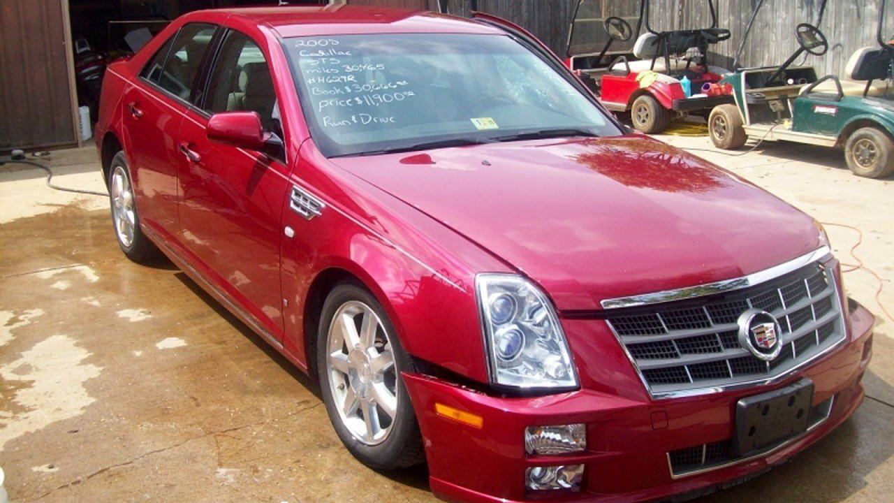 2008 cadillac sts for sale near bedford virginia 24174. Black Bedroom Furniture Sets. Home Design Ideas