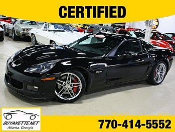 2008 Chevrolet Corvette Z06 Coupe for sale 100844417
