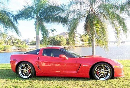 2008 Chevrolet Corvette Z06 Coupe for sale 100940202