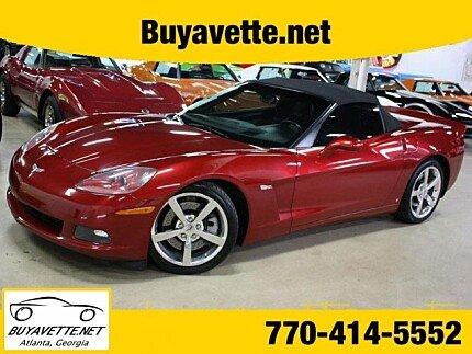 2008 Chevrolet Corvette Convertible for sale 100998230