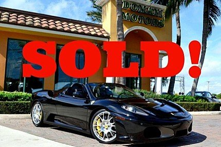 2008 Ferrari F430 Spider for sale 100721680