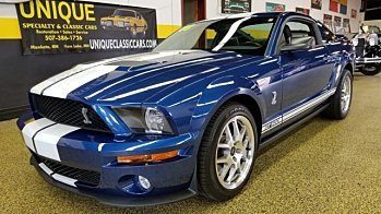 2008 Ford Mustang Shelby GT500 Coupe for sale 101030039