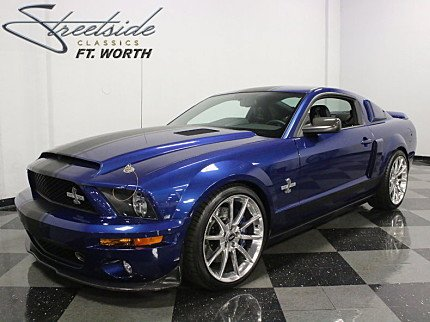 2008 ford mustang shelby gt500 coupe for sale 100867601