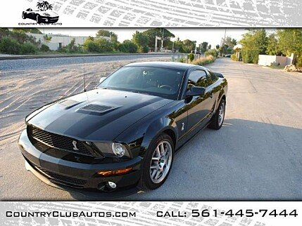 2008 Ford Mustang Shelby GT500 Coupe for sale 100925148