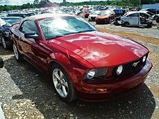 2008 Ford Mustang GT Convertible for sale 100973081
