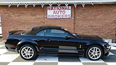 2008 Ford Mustang Shelby GT500 Convertible for sale 101068284