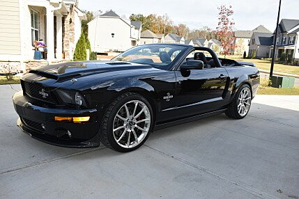 2008 Ford Mustang Shelby GT500 Convertible for sale 100944816