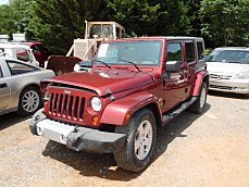 2008 Jeep Wrangler 2WD Unlimited Sahara for sale 100290096