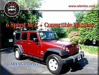2008 Jeep Wrangler 4WD Unlimited X for sale 100879499