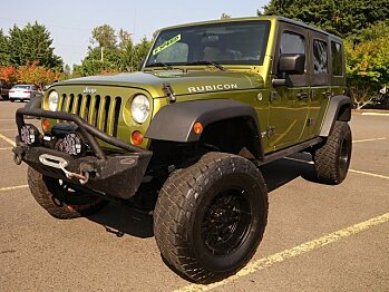 2008 Jeep Wrangler 4WD Unlimited Rubicon for sale 100895528