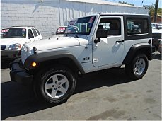 2008 Jeep Wrangler 4WD X for sale 100886244