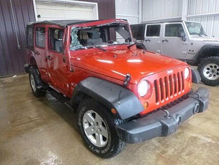 2008 Jeep Wrangler 4WD Unlimited X for sale 100931128
