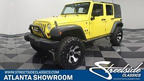 2008 Jeep Wrangler 4WD Unlimited X for sale 100981912