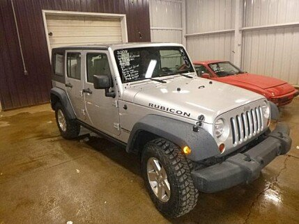 2008 Jeep Wrangler 4WD Unlimited Rubicon for sale 100982823