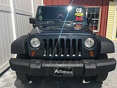 2008 Jeep Wrangler 4WD X w/ Right Hand Drive for sale 101024040
