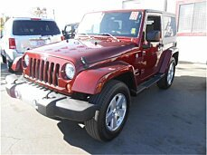 2008 Jeep Wrangler 4WD Sahara for sale 101025000