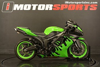 2008 Kawasaki Ninja ZX-6R for sale 200524146
