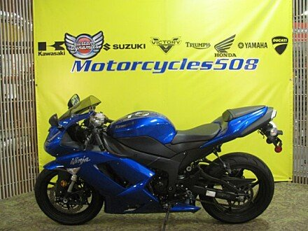 2008 Kawasaki Ninja ZX-6R for sale 200485380