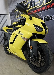 2008 Kawasaki Ninja ZX-6R for sale 200570207