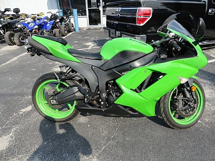 2008 Kawasaki Ninja ZX-6R for sale 200571364