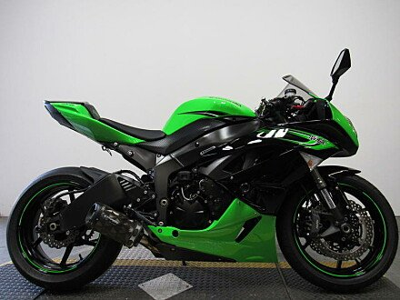2008 Kawasaki Ninja ZX-6R for sale 200633354