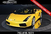 2008 Lamborghini Gallardo Spyder for sale 100777267