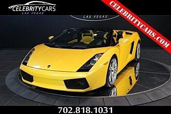 2008 Lamborghini Gallardo Spyder for sale 100777267