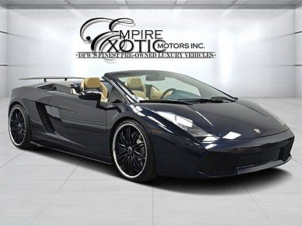 2008 Lamborghini Gallardo Spyder for sale 100843379