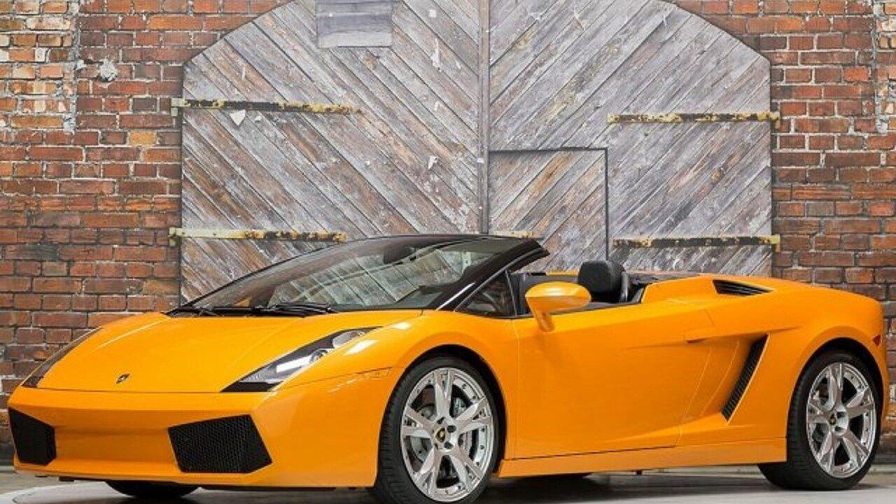 2008 Lamborghini Gallardo Spyder for sale 100943224