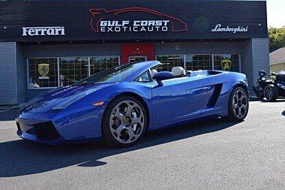 2008 Lamborghini Gallardo Spyder for sale 100926180
