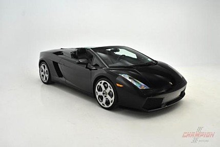 2008 Lamborghini Gallardo Spyder for sale 100967892