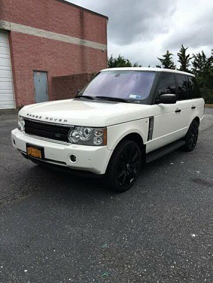 2008 Land Rover Range Rover HSE for sale 100832168
