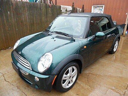 2008 MINI Cooper Convertible for sale 100289826