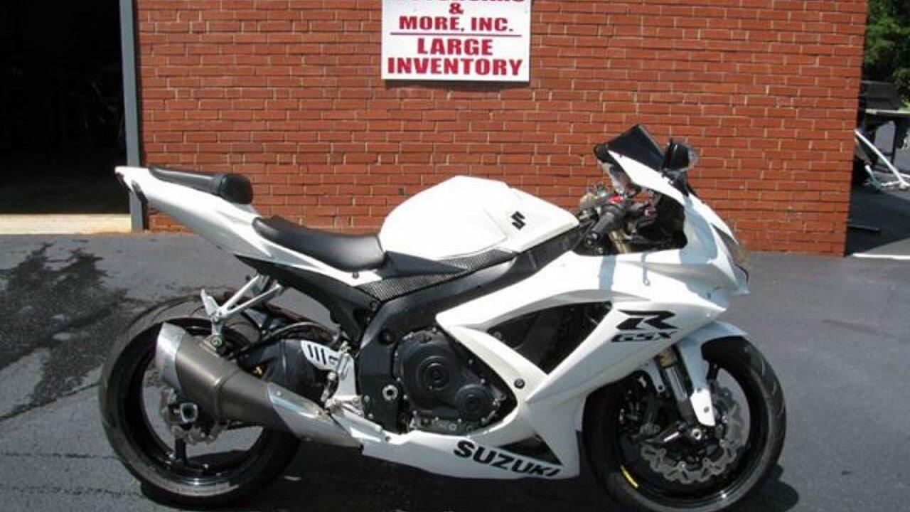 2008 Suzuki GSX-R600 for sale 200465871