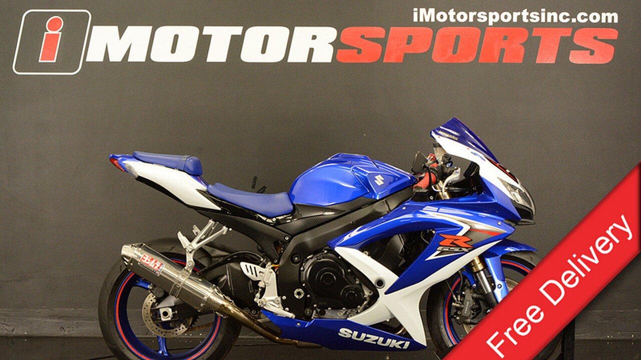 2008 Suzuki GSX-R600 for sale 200475094