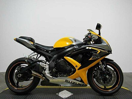 2008 Suzuki GSX-R600 for sale 200431149