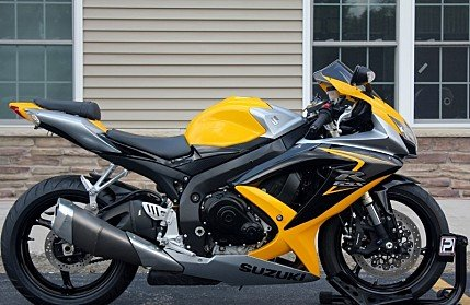 2008 Suzuki GSX-R600 for sale 200610880