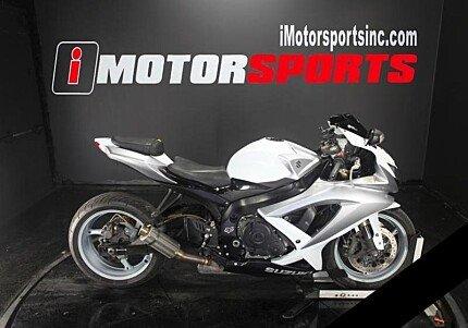 2008 Suzuki GSX-R600 for sale 200627638