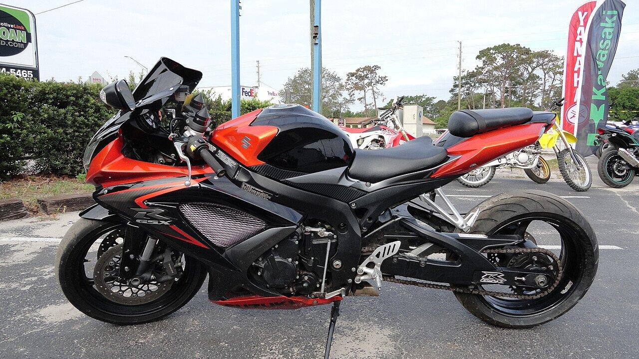 2008 Suzuki GSX-R750 for sale 200552087