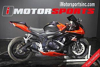 2008 Suzuki GSX-R750 for sale 200623057