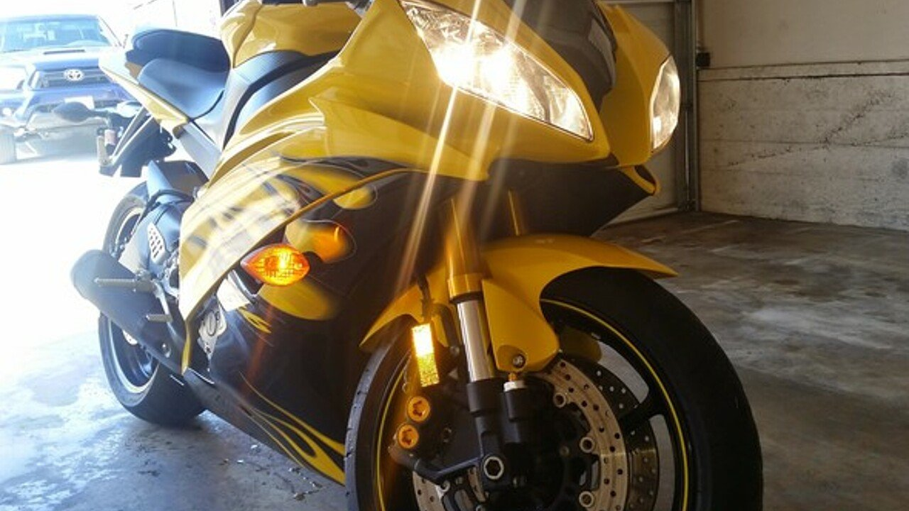 2008 Yamaha YZF-R6 for sale 200437695