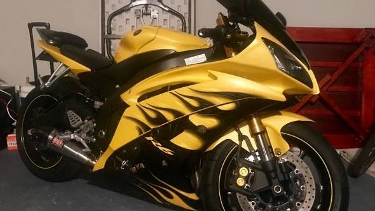 2008 Yamaha YZF-R6 for sale 200485128