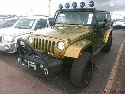 2008 jeep Wrangler 4WD Unlimited Sahara for sale 101020813