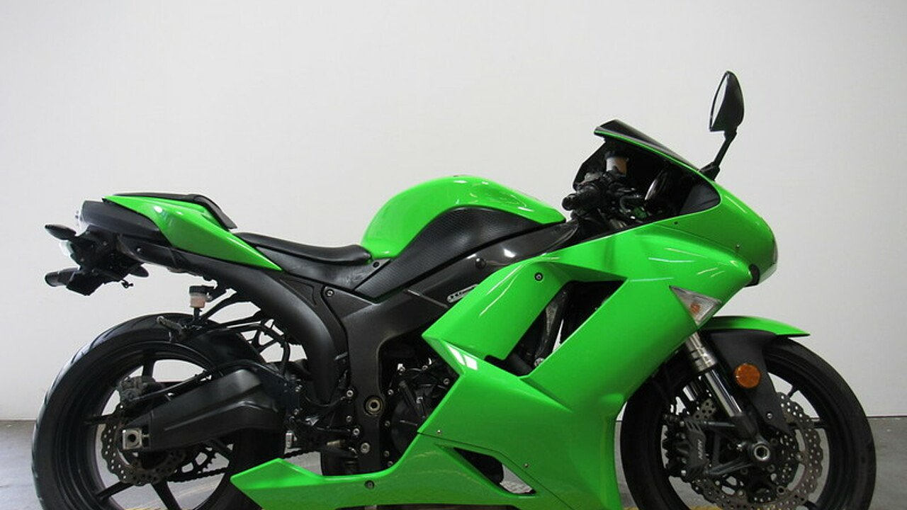 2008 kawasaki Ninja ZX-6R for sale 200586427