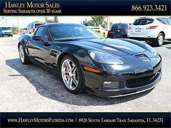 2009 Chevrolet Corvette Z06 Coupe for sale 101002301
