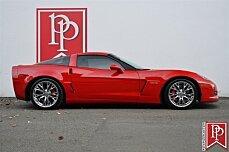 2009 Chevrolet Corvette Z06 Coupe for sale 100830289