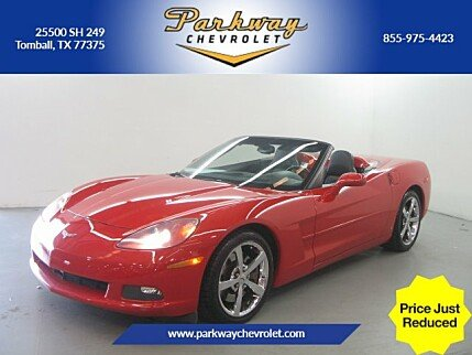 2009 Chevrolet Corvette Convertible for sale 100991405