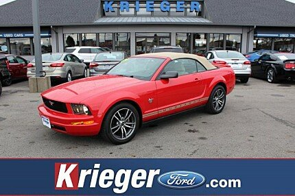 2009 Ford Mustang Convertible for sale 100922258