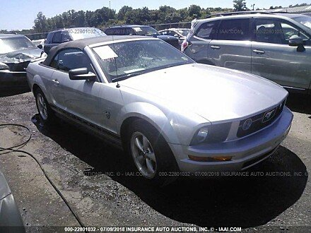 2009 Ford Mustang Convertible for sale 101015841