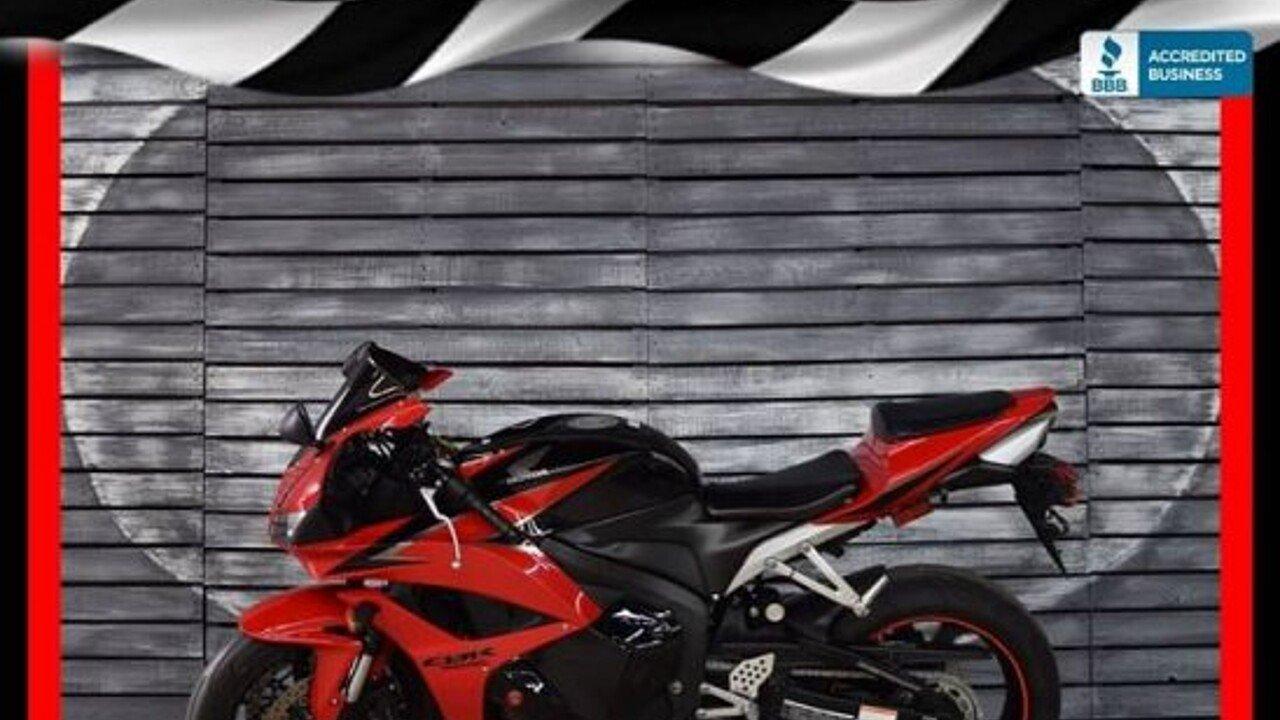2009 Honda CBR600RR for sale 200547800